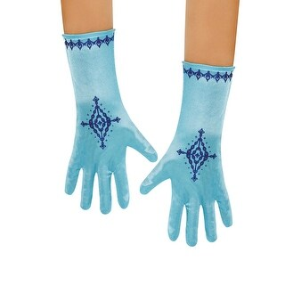 Girls Frozen Anna Costume Gloves - standard - one size