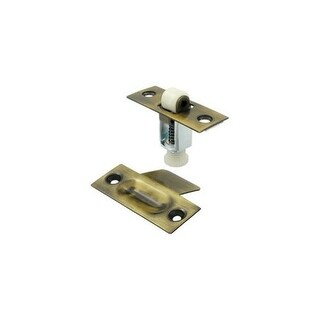 """Deltana RCA336 2-1/4""""x 7/8"""" Solid Brass Roller Catch"""