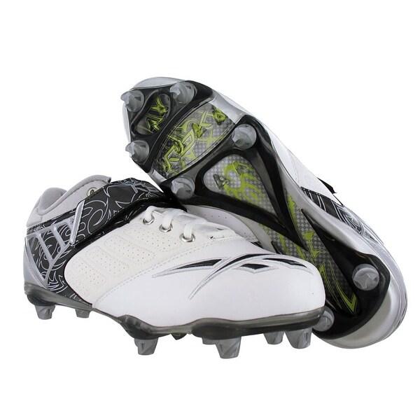 Reebok Bulldodge Low Sd2 Lc Mens Football Shoes White/black/silver Size - 7.5 d(m) us