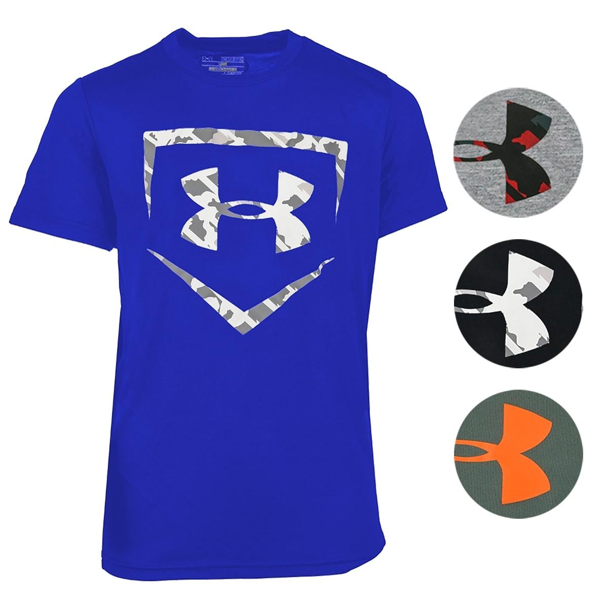 Under Armour Boys Ua Tech Ss Tee Short-Sleeve Shirt