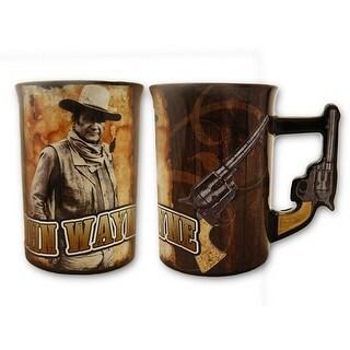 John Wayne Pistol Handle 16oz Mug