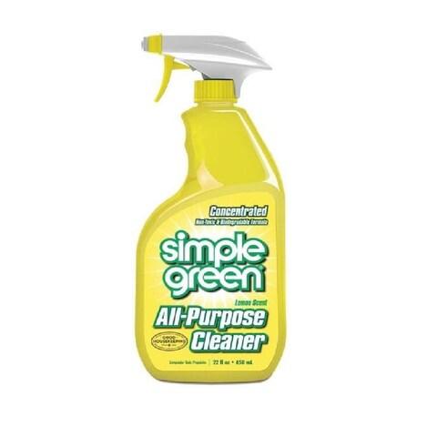 Simple Green 3010001214001 All Purpose Cleaner, 22 Oz, Lemon Scent