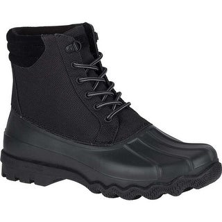 Sperry Top-Sider Men's Avenue Duck Boot Black Synthetic
