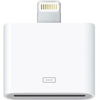 4XEM 4XIPHONE5ADAPT 4XEM 8-Pin Lightning To 30-Pin Adapter for iPhone/iPod/iPad - 1 x Lightning Male Proprietary Connector - 1 x