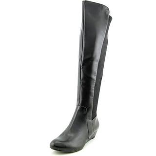 Jessica Simpson Joline Women Round Toe Synthetic Black Over the Knee Boot