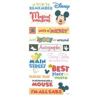 Themepark Phrase - Disney Mickey Stickers & Borders