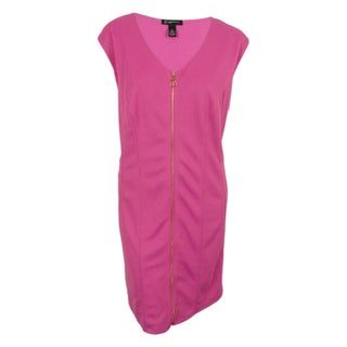 INC International Concepts Women's Zip Front Sleeveles Dress (2 options available)