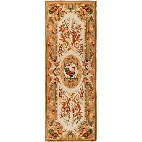 Safavieh Hand-hooked Chelsea Myranda Country Oriental Wool Rug