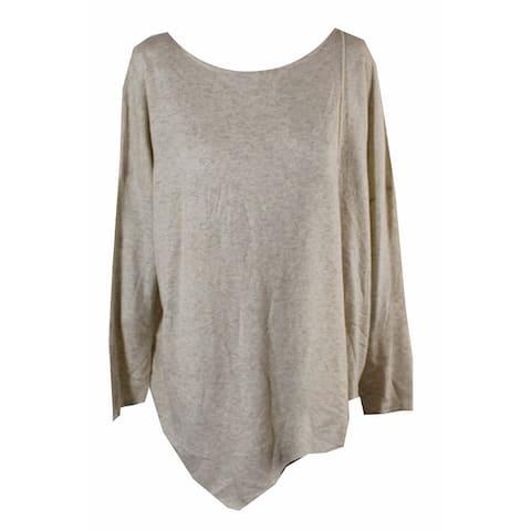 Inc International Concepts Heather Sandune Asymmetrical Tunic Sweater M