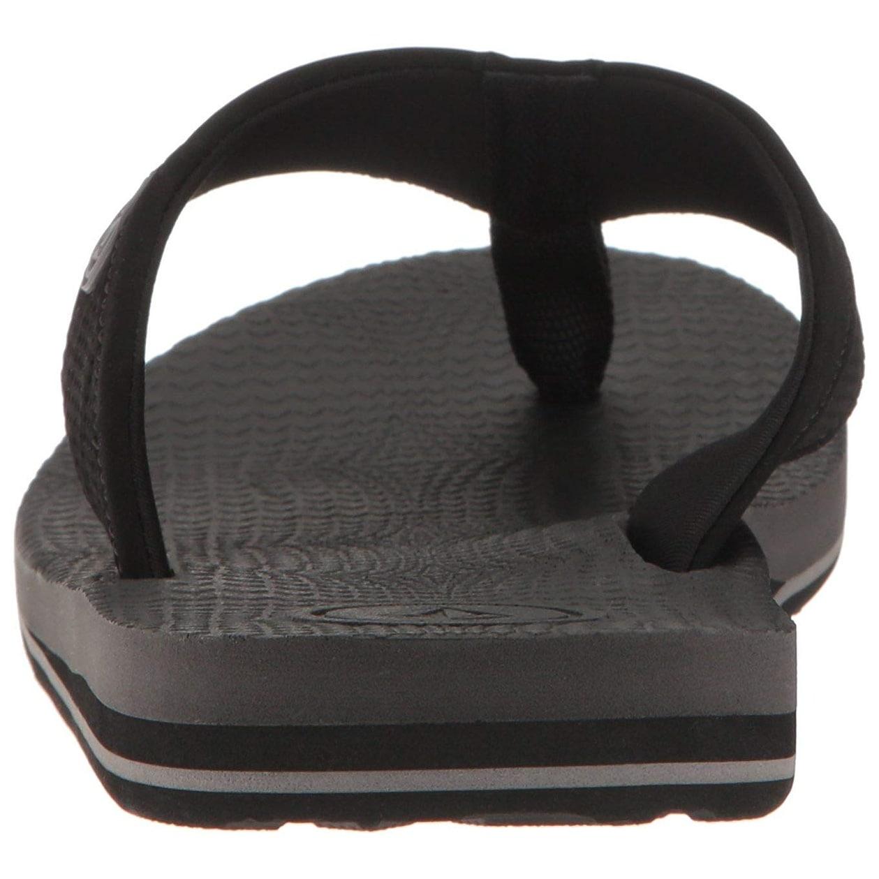 Volcom Mens Lounger Memory Foam Flip Flop Sandal
