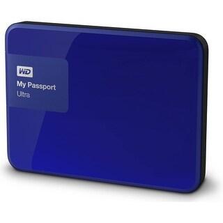 Refurbished - WD My Passport Ultra 2TB Blue Portable External Hard Drive USB 3.0 WDBBKD0020BBL