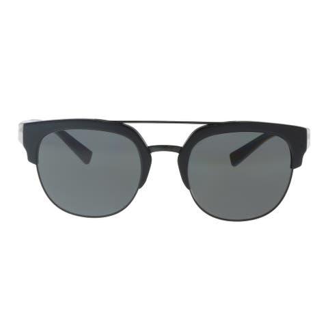 Dolce & Gabbana DG4317 501/87 Black Square Sunglasses - 53-21-145