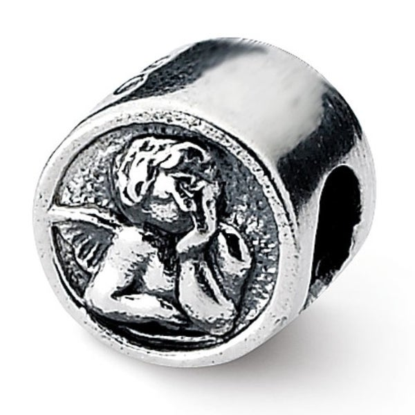 Sterling Silver Reflections Angel Bead (4mm Diameter Hole)
