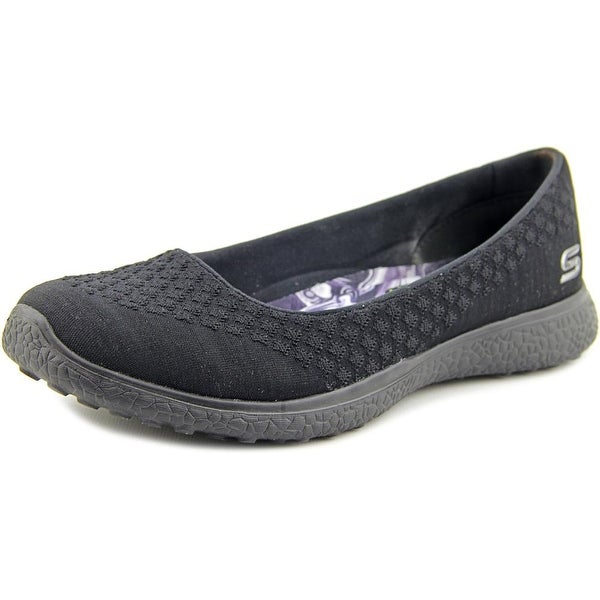 Caligrafía Jirafa Monarca  Shop Skechers Microburst-One-Up Women Black Flats - Overstock - 13928862