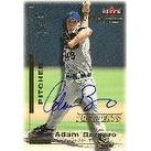 Adam Bernero Detroit Tigers 2001 Fleer Triple Crown Prospects Autographed Card  This item comes wit