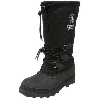 Kamik Womens Canuck Rubber Mid-Calf Snow Boots