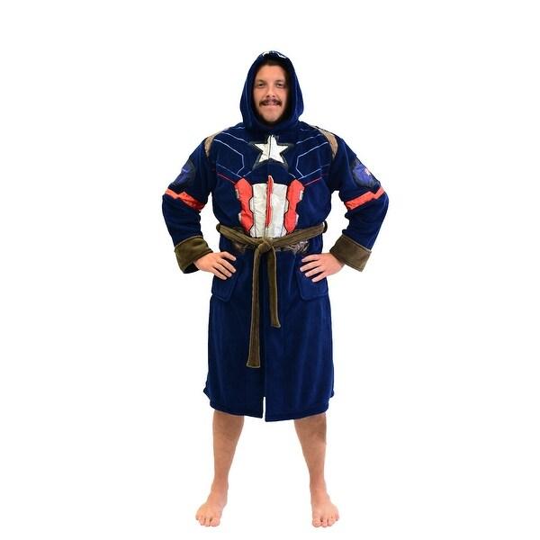 Shop Marvel Universe Captain America Civil War Mens Fleece Costume ... 333199d7b