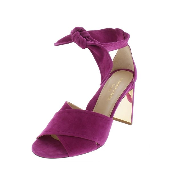 ef01718c8061 Shop Marion Parke Womens Leah Dress Sandals Suede Heels - On Sale ...