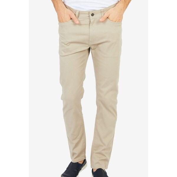 Nautica Beige Mens Size 40x30 Classic Straight Leg Stretch Jeans