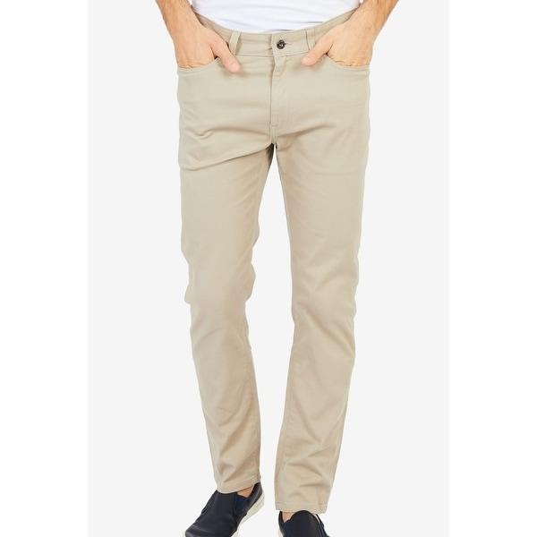 Nautica Mens 33x34 Classic Straight Leg Stretch Jeans