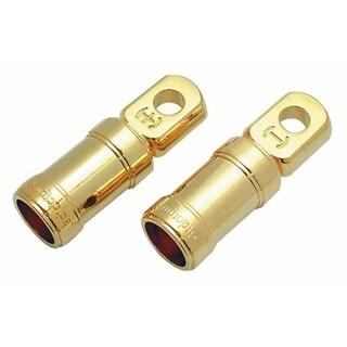 AUDIOP BTC10 1-0 Gauge Ring Terminal - Gold