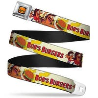 Hamburger Full Color Black Bob's Burgers Issue #1 Belcher Family Cover Pose Seatbelt Belt