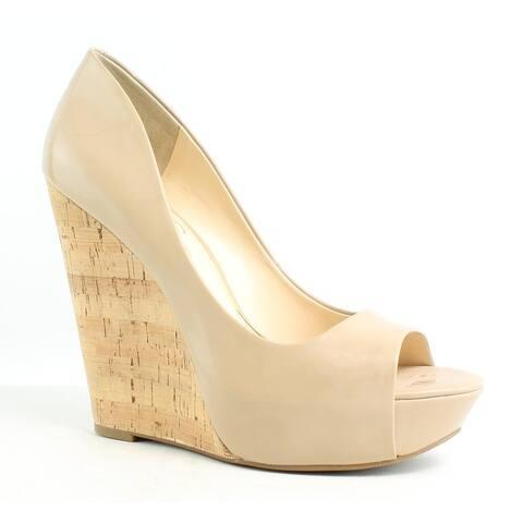 52e67c6b02ed SALE. 3. Jessica Simpson Womens Bethani Nude Peep Toe Heels Size 10