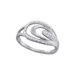 1/20Ctw Diamond Fashion Ring - White