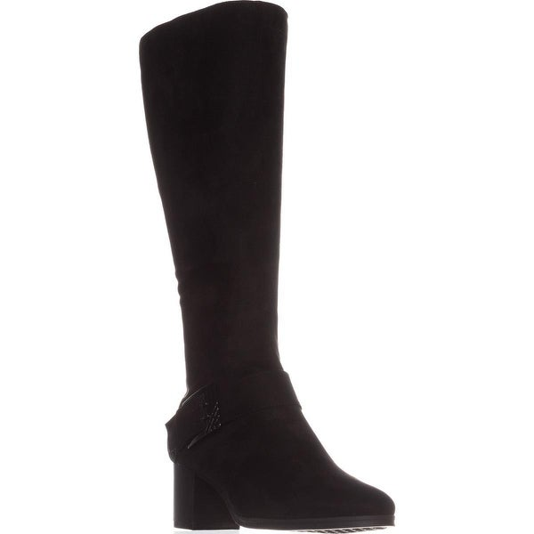 Aerosoles Chatroom Knee High Boots, Black Fabric