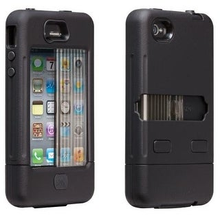 Case-Mate Tank Case for Apple iPhone 4S (Black/Black)