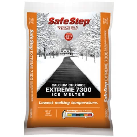 Safe Step 50850T Calcium Chloride Extreme 7300 Ice Melter, 50 lbs