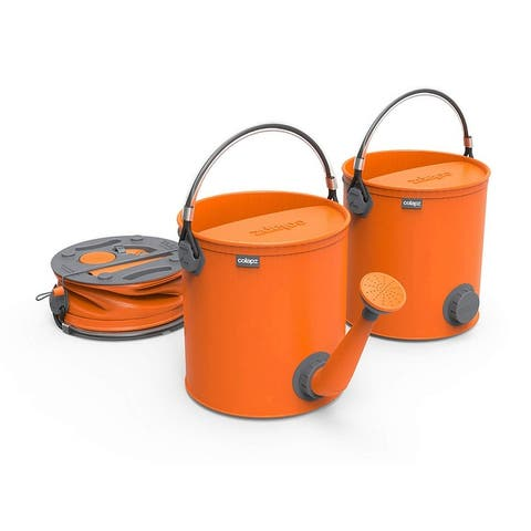 ColourWave Collapsible 2-In-1 Watering Can Bucket, 7 Liters