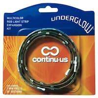 Continu-us UGA-40RGB Multi-Color RGB LED Light Strip Expansion Kit, 40""