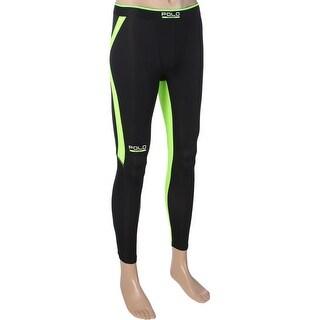 Polo Ralph Lauren Mens Athletic Leggings Flat Seam Colorblocked - S