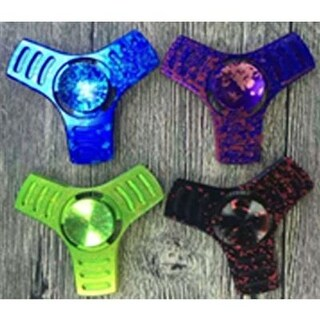 Xtreme 24 Piece Metal Fidget Blade Spinner - 4 Assorted Colors