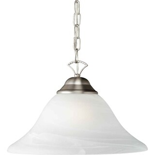 Forte Lighting 2042-01 16Wx9H Down Lighting Pendant