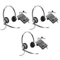 Plantronics Encore Pro HW720 with M22 3 pack Stereo Corded Headset