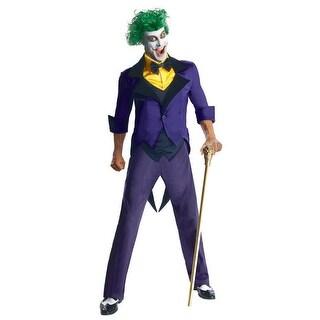 DC Comics Super Villains The Joker Adult Costume