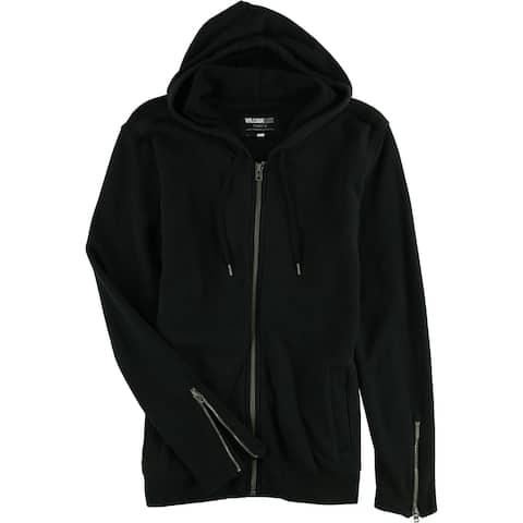 William Rast Mens Iggy Full-Zip Hoodie Sweatshirt