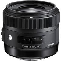 Sigma 30mm f/1.4 Art DC HSM Lens for Canon - Black