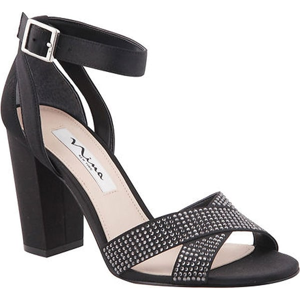 Nina Women's Shelly Ankle-Strap Sandal