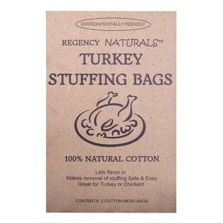 Regency Naturals RW875N Turkey Stuffing Bags, 100% Cotton, Set of 2