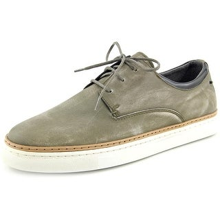 Diesel Gun Tel DBlaast Low Round Toe Leather Sneakers