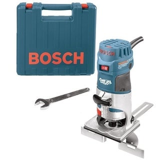 Bosch PR20EVSK Colt Palm Grip 5.6 Amp 1-Hp Fixed-Base Variable-Speed Router - Blue