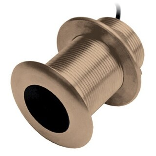 """Garmin 010-11927-22 Bronze Thru-Hull Transducer - 300W 8-Pin"""