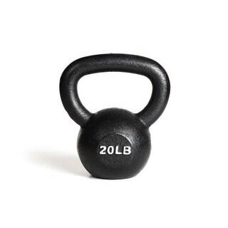 York Barbell 15120 20 lb. Kettlebell