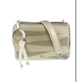 Class Roberto Cavalli CityZebra 001 Platinum/Nude Small Shoulder Bag