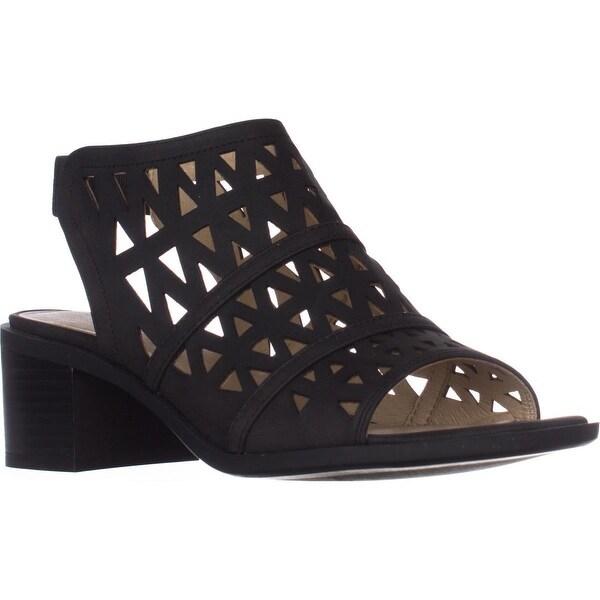 Seven Dials Adria Slingback Sandals, Black
