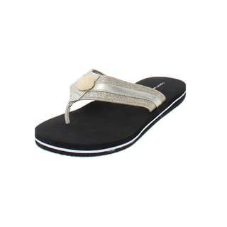 0dc35cb372d8 Tommy Hilfiger Womens Souli Open Toe Casual Slide Sandals. Quick View
