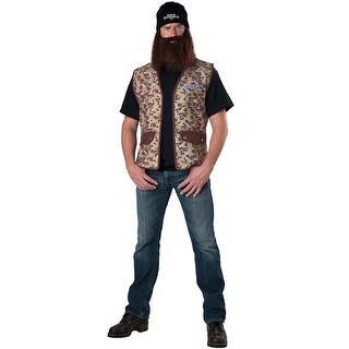 InCharacter Jase Adult Costume - Brown - One size